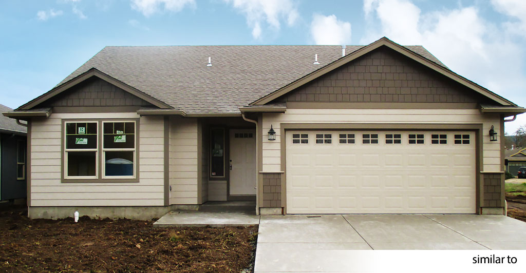 New Construction - Takena Estates in Albany, Oregon. 1394 sq.ft. home